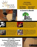 Mic the Pick will perform at the Safe Houses Benefit Concert. This is the one to make!