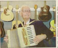 Bob Boyd with Accordian